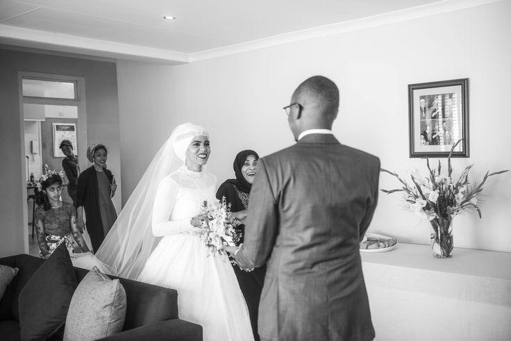 Aliyah and Freddie's Nizamiye Mosque wedding