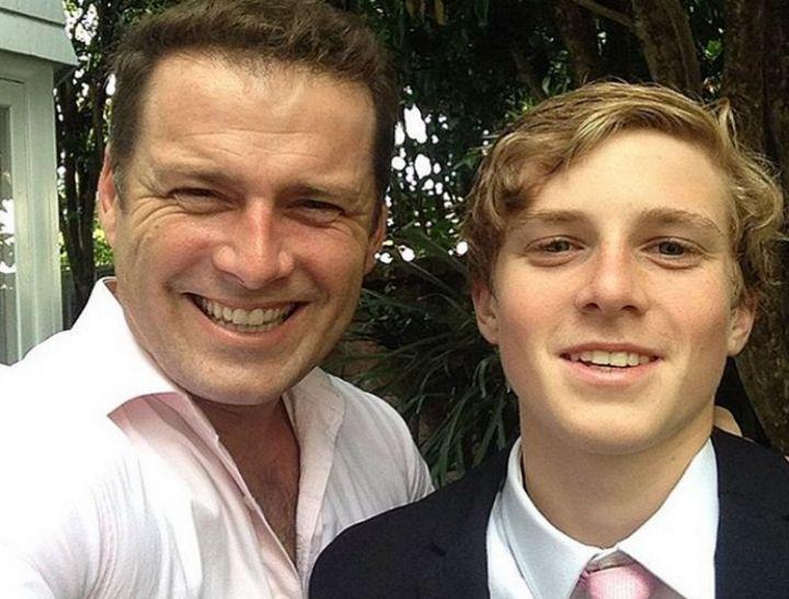 Karl Stefanovic's son looks exactly like… Karl Stefanovic's brother.