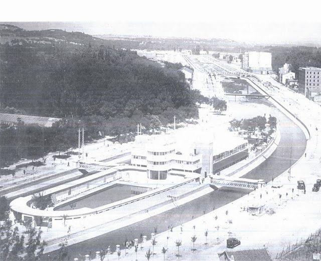 A principios de los años 30 se construye en Madrid la piscina La Isla