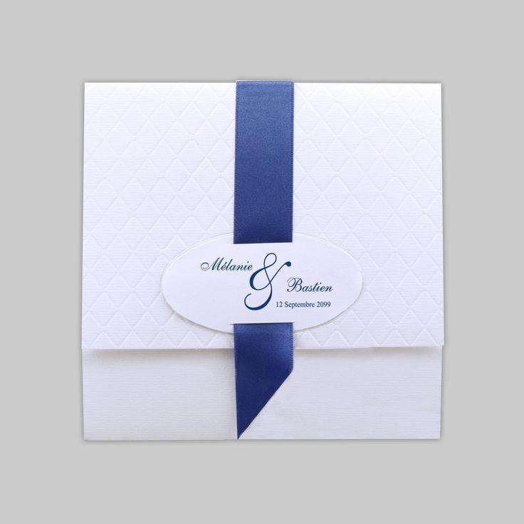 Les 48 meilleures images du tableau mariage en bleu sur pinterest faire part mariages et - Mariage bleu et blanc ...