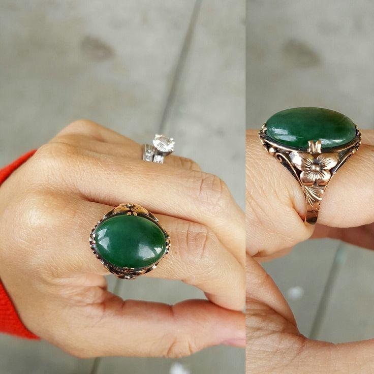 We simply love our jade rings!!
