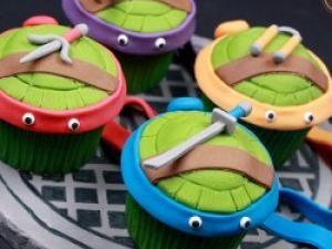 Cupcakes Tortues Ninja • Hellocoton.fr