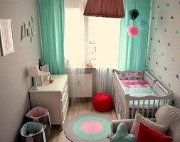 Pokój małej dziewczynki - Pokój dziecka, styl skandynawski - zdjęcie od dekoratoramator.pl