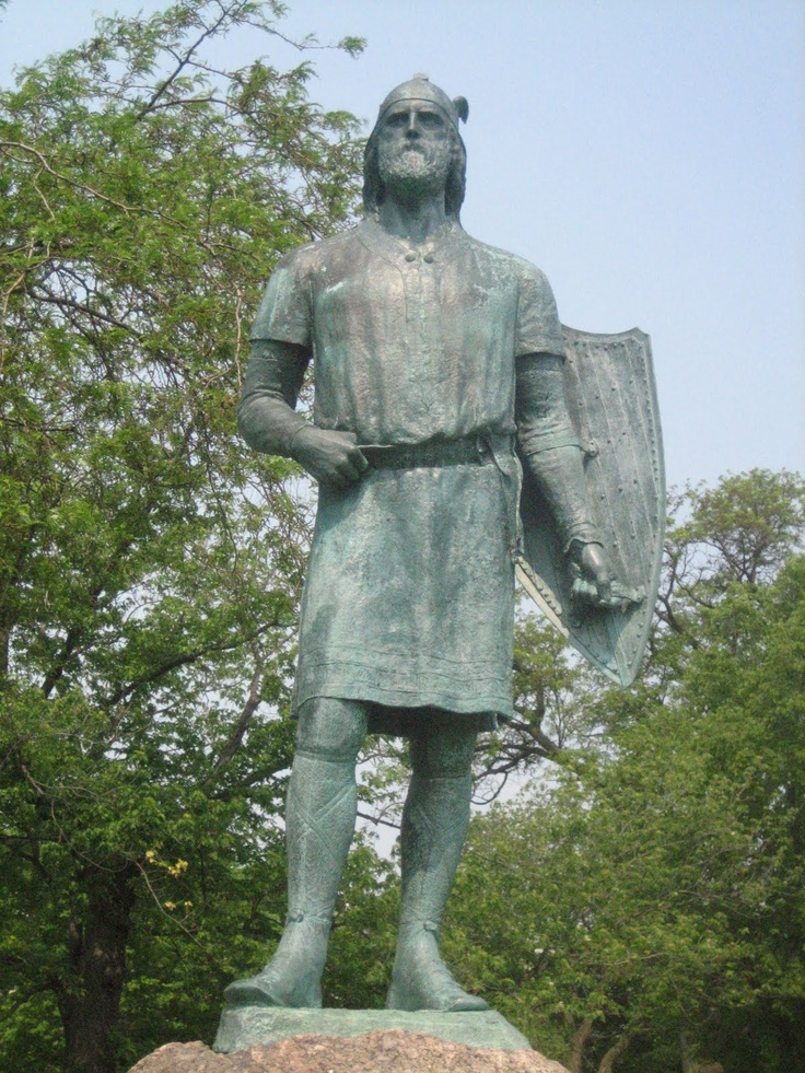 Viking Explorer Leif Erikson Drebenstedt Park Chicago