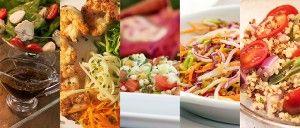 Top 5 das minhas saladas favoritas