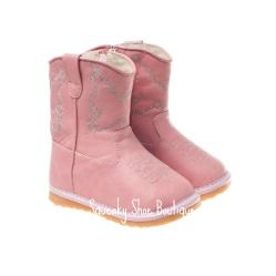 Pink Cowboy Boot Squeaky Shoe-Shaylee- Pink Cowboy Boot Squeaky Shoe,Squeaky shoes at a discount, Wholesale squeaker shoes to the public, Toddler squeaky shoes, children's squeaky shoes, squeaky shoes for children, black squeaky shoes, sophie's chic boutique, little blue lamb squeaky shoes, squeaky shoes wholesale, squeaker shoes, squeaky toddler shoes, squeaky baby shoes, sophie's boutique, squeaky shoes in Utah, little blue lamb squeaky shoes wholesale, squeak shoes, discount squeaky…