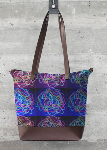 Statement Bag - Midnight Garden Tote by VIDA VIDA LsCe5P