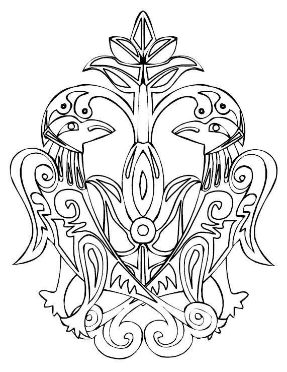 celtic adult coloring pages - photo#27