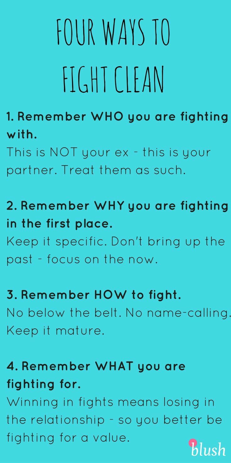 Utilizing communication guidelines when tensions arise in your relationship.
