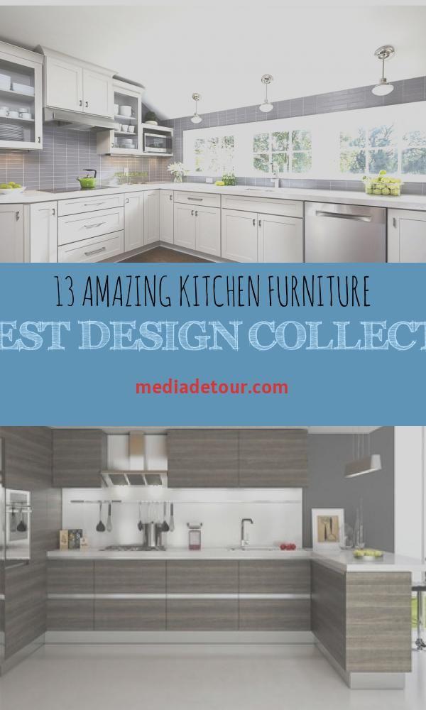13 Amazing Kitchen Furniture Latest Design Collection In 2020 Kitchen Design Trends Cool Kitchens Latest Kitchen Designs