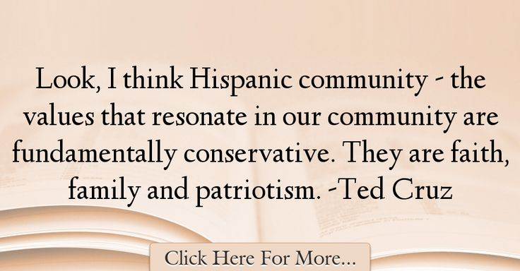 Ted Cruz Quotes About Family - 20410