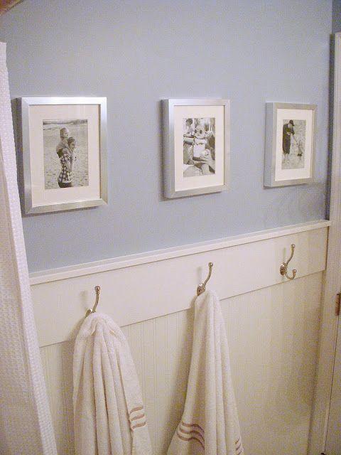 ideas cute ideas moldings the boy chair rail molding towel hooks