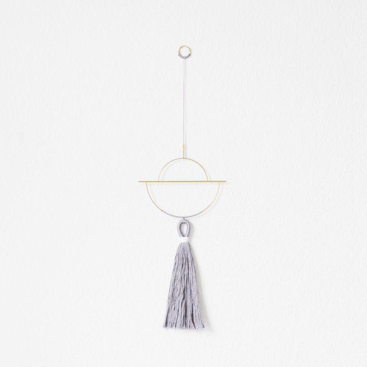Arvak Wallhanger, V3 | Design  Brass, Twine, Wallhanging, Wall hanging, Nørkl