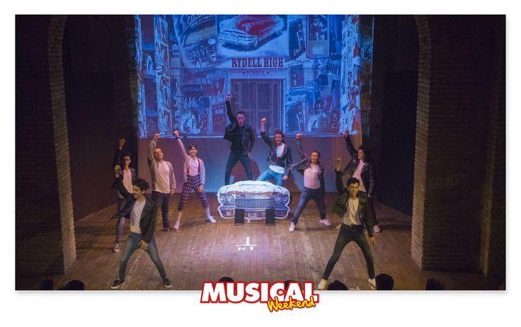 I bravissimi ragazzi di #MusicalWeekend Roma si sono esibiti lo scorso fine settimana. Eccovi le prime foto! #grease