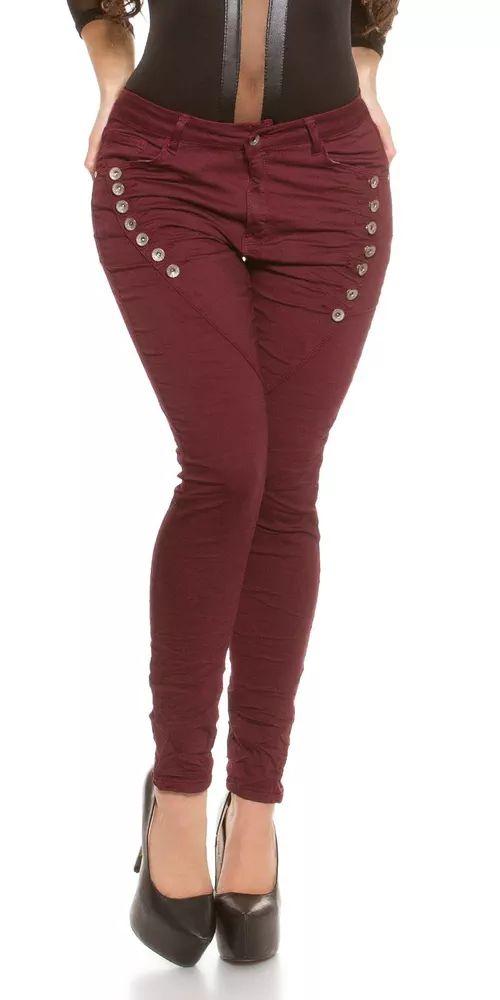Dámské skinny džíny pro plnoštíhlé postavy