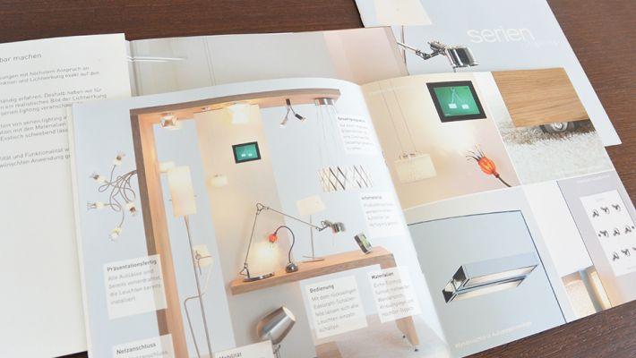 Broschüre für das Showroomkonzept - Nina Schaarschmidt