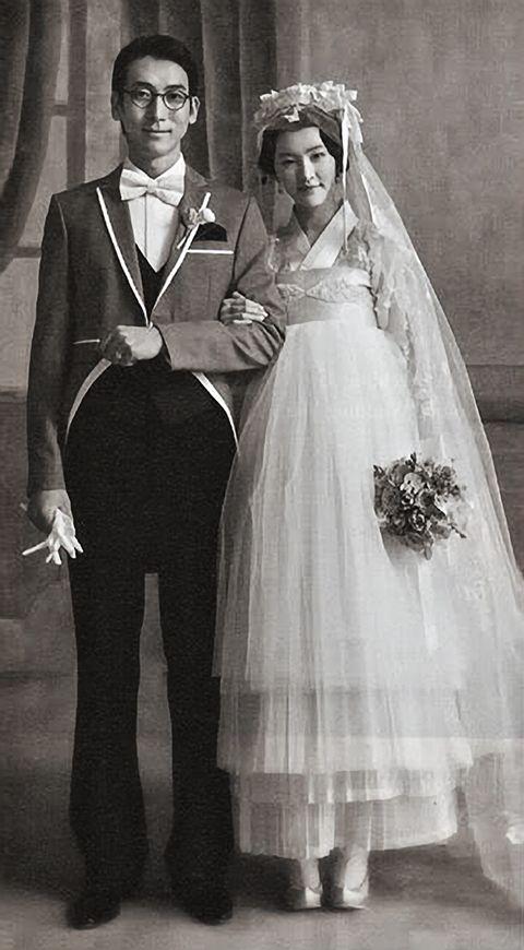 Blast from the past: Vintage Korean Wedding Couple. East ...