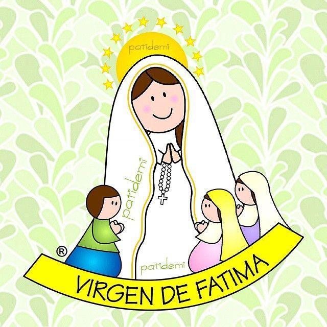 """48 Me gusta, 3 comentarios - PATIDEMI (@patidemi) en Instagram: """"#VirgenDeFatima #Fatima #PatronaDeLosPortugueses #ProtegeAVenezuela #BendiceAVenezuela…"""""""