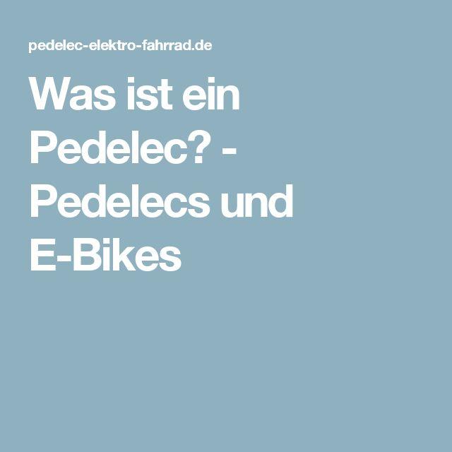 was ist ein pedelec pedelecs und e bikes beliebt. Black Bedroom Furniture Sets. Home Design Ideas
