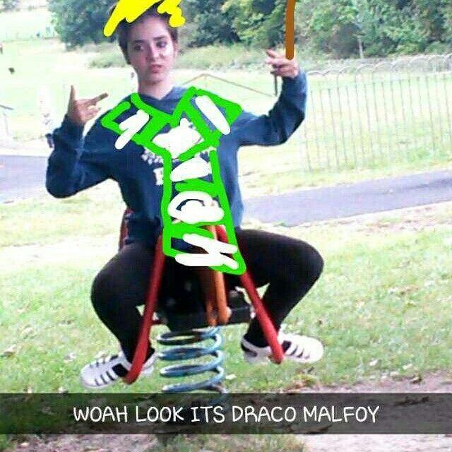 WOAH LOOK ITS DRACO MALFOY