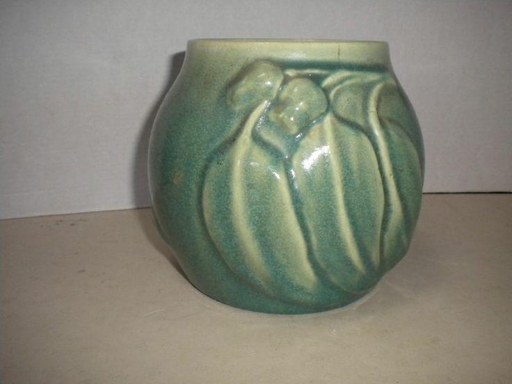 11.5cm x large 1931/40 Vintage Melrose Ware Glaze Vase