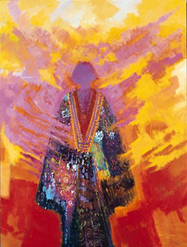 Daughter of the Morning Sun by Darcy Nicholas, Māori artist