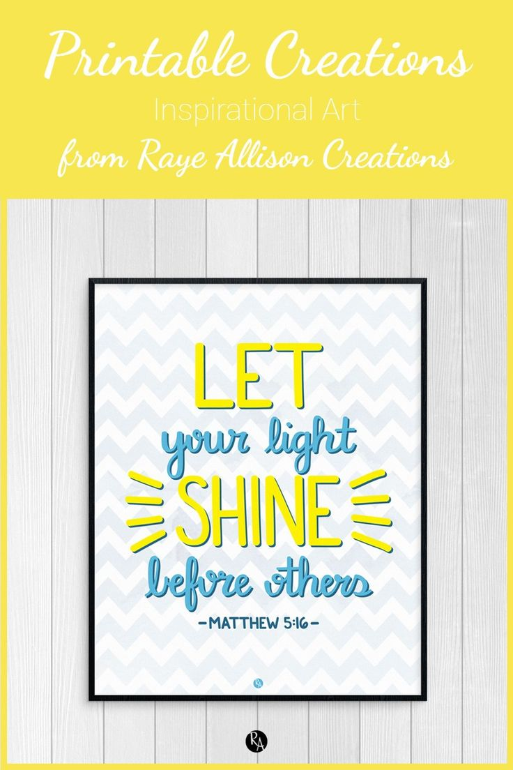 The 74 best Printable Creations | Raye Allison Creations images on ...