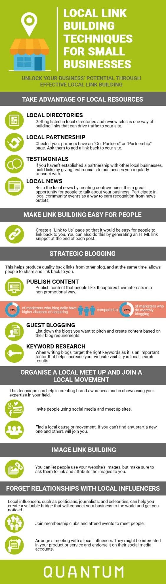 Local #SEO link building techniques for small businesses