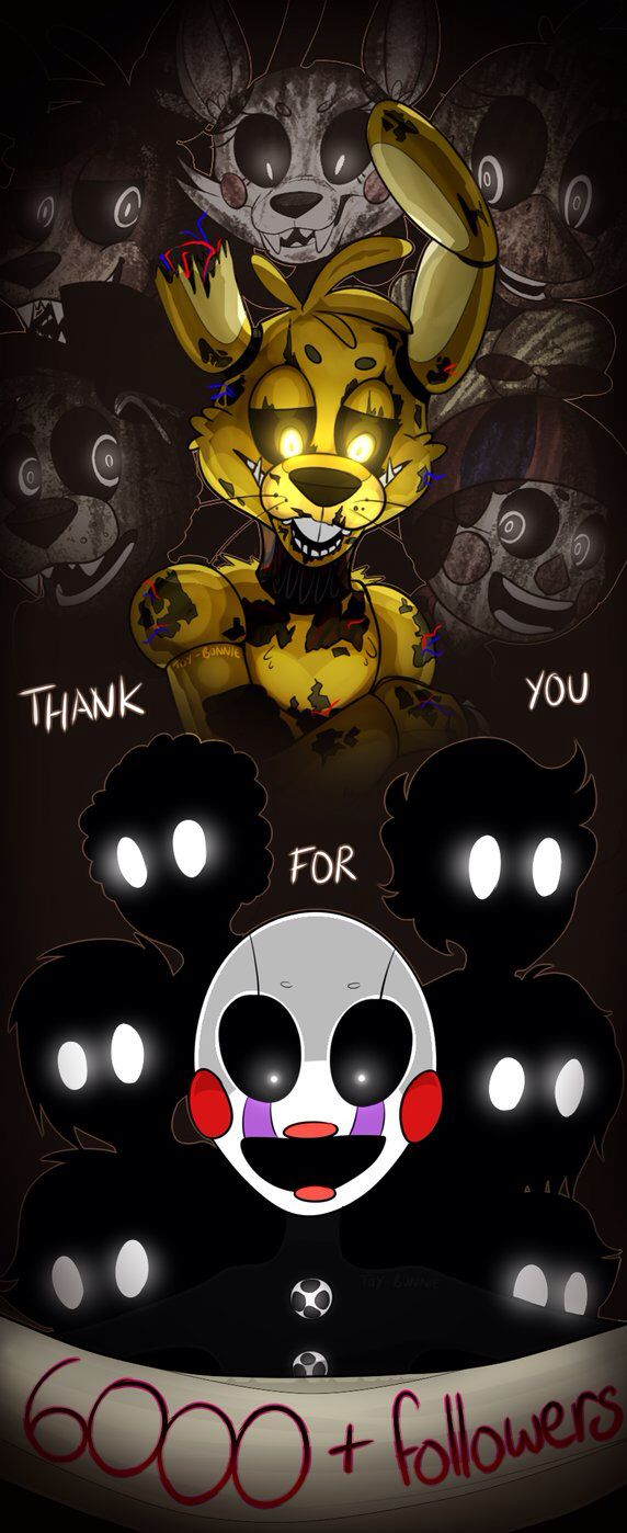 Five Nights At Freddy's 3: 6k by AnimatronicBunny on @DeviantArt