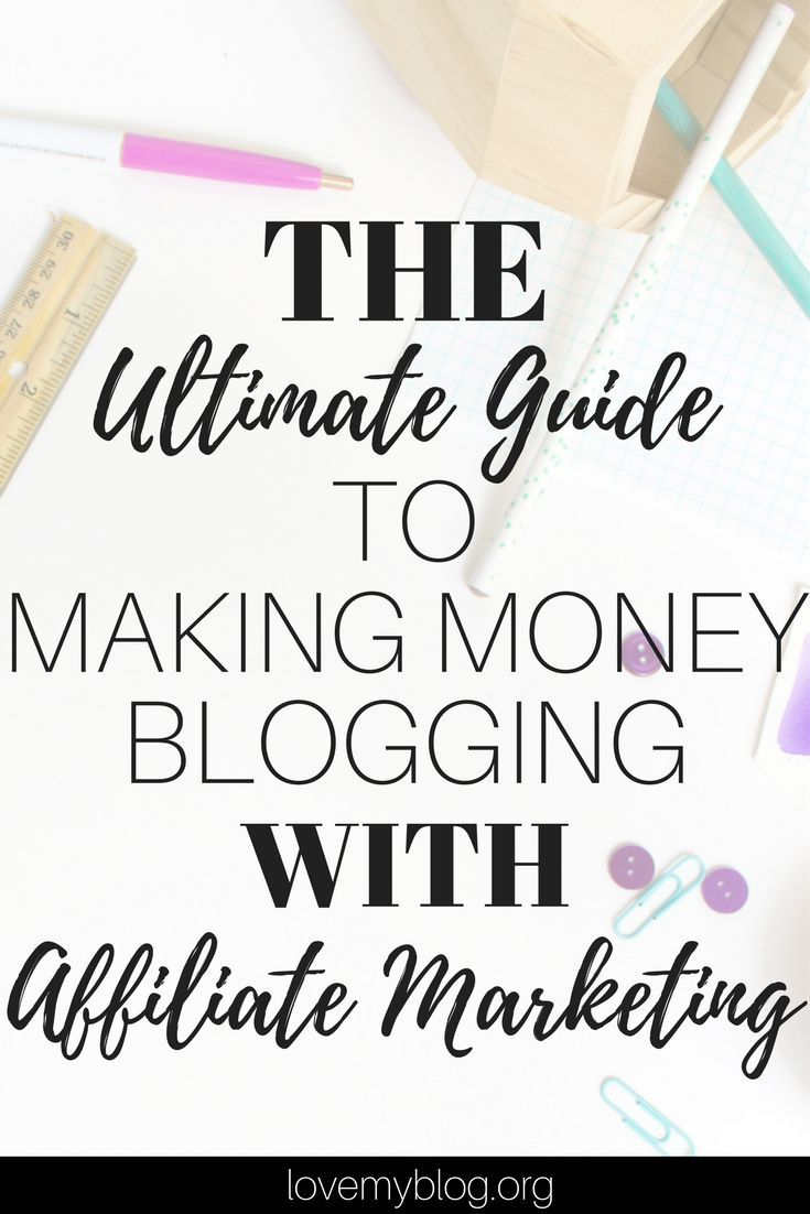Making Money Blogging with Affiliate Marketing