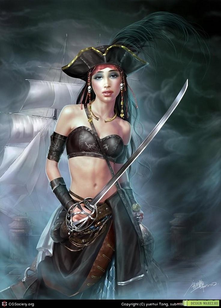Sexy women pirates