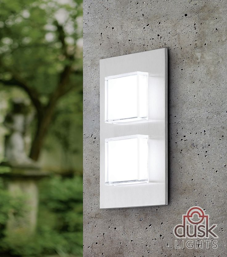 41 best eglo exterior lighting images on pinterest exterior eglo pias led exterior stainless steel wall light workwithnaturefo
