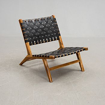 "STOL, ""128 Lounge Chair"", De la espada, 1993. | Bukowskis Market"