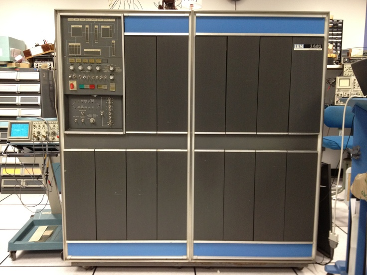 ibm 1401 mainframe i learned programming on this machine. Black Bedroom Furniture Sets. Home Design Ideas