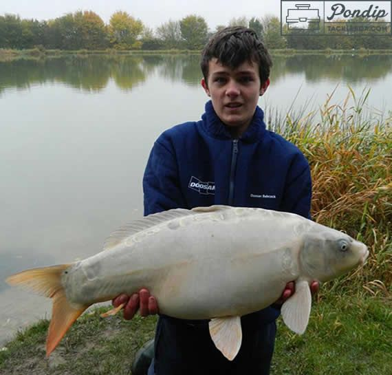 **My Halloween Ghost Carp** Read George's most memorable catch and check out the story behind this Carp beauty!