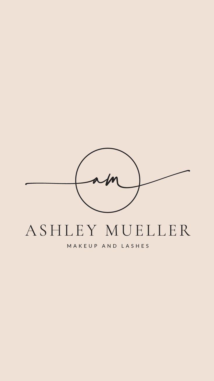 Logo Design And Branding Kit Fully Customizable Beauty Etsy In 2020 Custom Logo Design Lashes Logo Beauty Logo Design