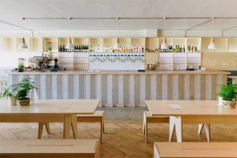 Mason and Company's new Hackney Wick bar / Fleet Architects design  / ph: Owen Richards