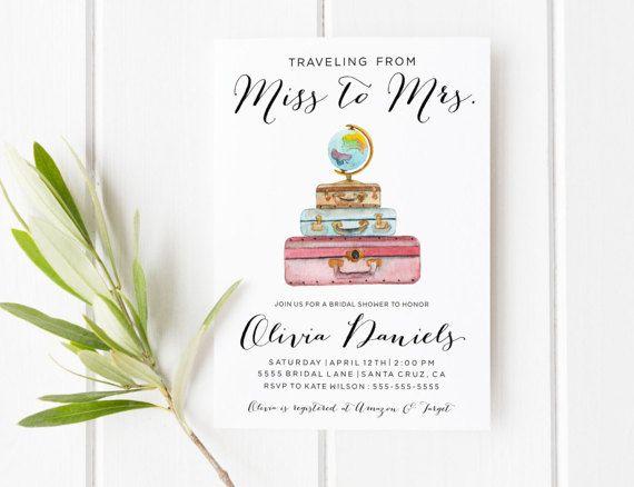Best 25+ Travel bridal showers ideas on Pinterest   Travel party ...