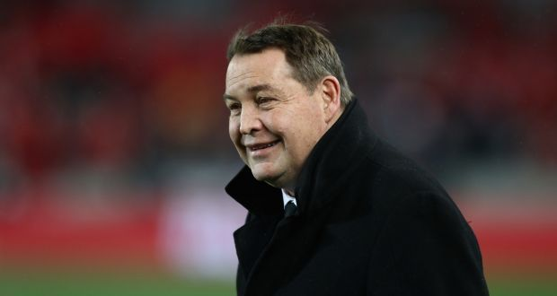 "Steve Hansen: ""I always find it amusing when people tell us they're going to beat us up in the tight five,"". Photo: David Rogers/Getty Images"