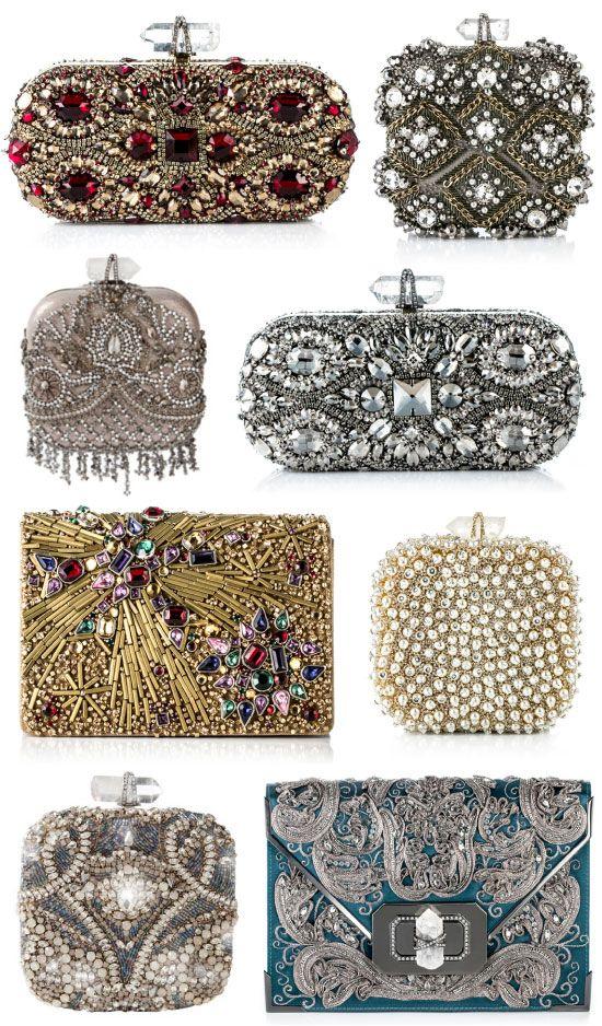 MARCHESA Evening Bags. Heaven.  =