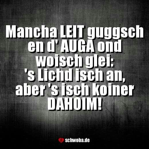 So ischs! #menschen #augen #licht #daheim #schwäbisch #schwaben #schwoba #württemberg