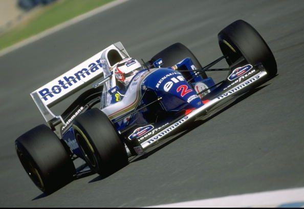 Nigel Mansell WILLIAMS FW16B RENAULT RS6 (NA3.5L-V10)