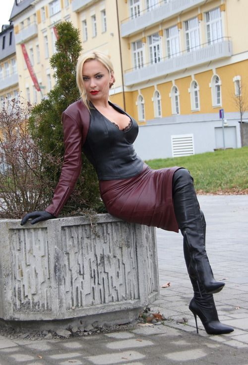 544 Best Gorgeous - Leather And Latex Images On Pinterest -4673