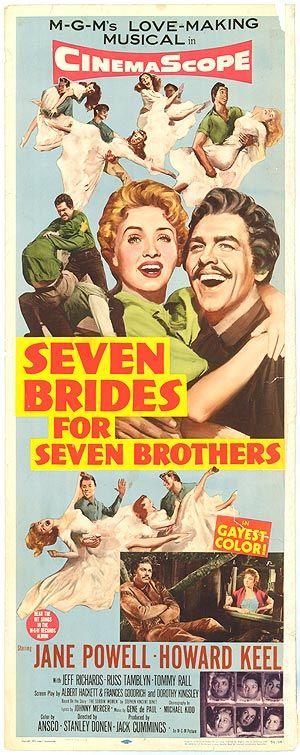 Siete novias para siete hermanos = SEVEN BRIDES FOR SEVEN BROTHERS  / Dirigida por Stanley Donen