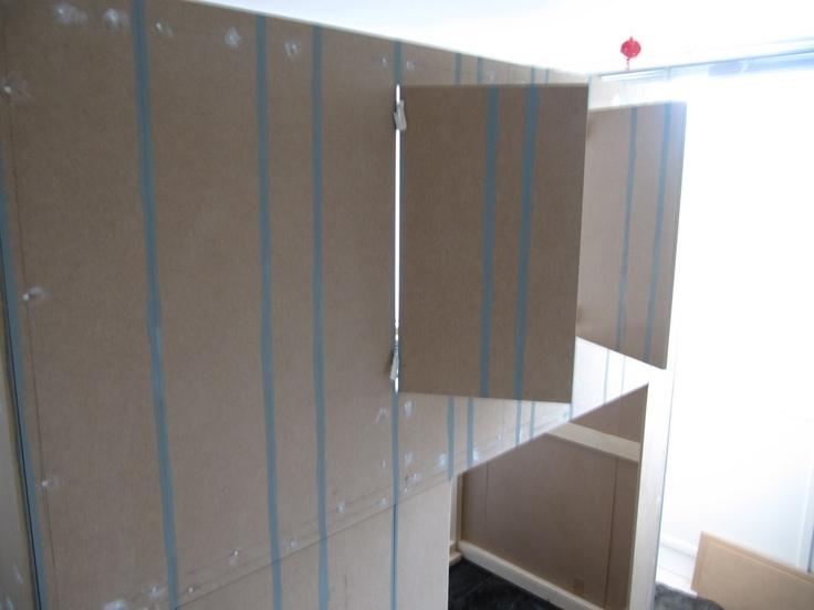 25 beste idee n over verf strepen op pinterest gestreepte muren gestreepte muren en - Verf kleur voor donkere gang ...