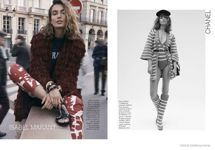 spring 2015 collections editorial Chanel Isabel Marant