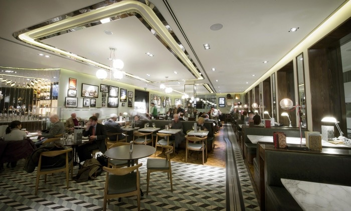 Oriel Heathrow Terminal by Afroditi Krassa    Restaurant and Bar Design Awards - Entry 2011/12