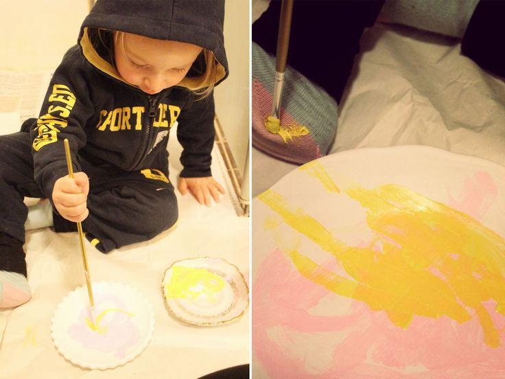 Juhlahuuma: Pikku maalari ♥