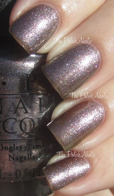 OPI Holiday 2012 Skyfall Collection: The World Is Not Enough