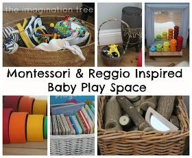 Montessori & Reggio Inspired Infant Play Space